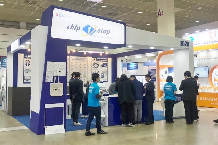 전자부품·반도체 온라인플랫폼 칩원스톱(Chip One Stop), 2019 한국전자전 참가