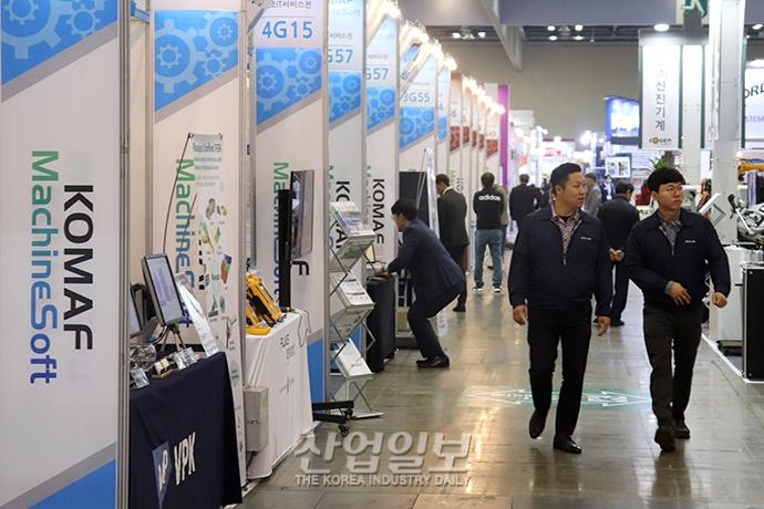 [2019 한국기계전] 4차 산업혁명 기술과 결합한 제조업 - 온라인전시회