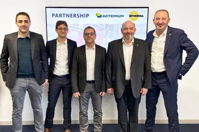 인터롤, Actemium Lyon Logistics 프랑스 배송업체와 소터 계약 체결