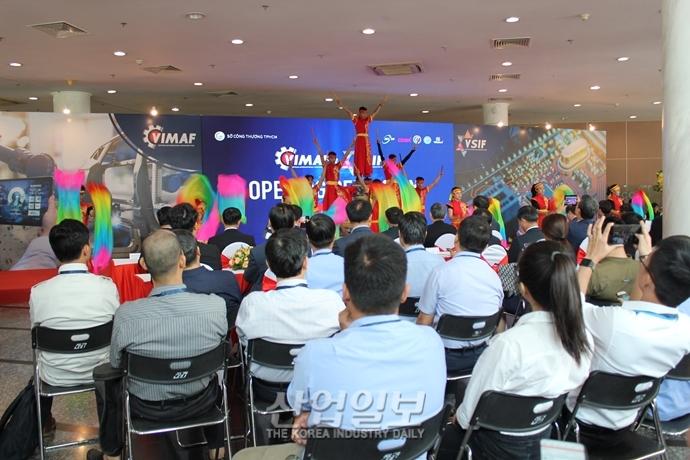 [포토뉴스][VIMAF 2019] '신남방정책' 요충지인 베트남에 선보여진 한국 기계산업의 진수
