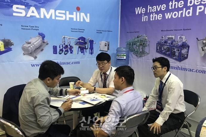 [포토뉴스] [VIMAF 2019] 삼신진공, 한국 제품 선호도 높은 베트남 시장 집중 공략 나서