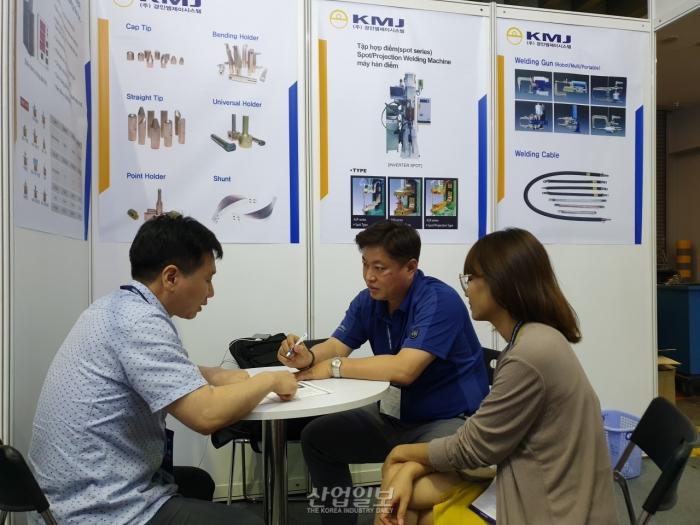 [포토뉴스][VIMAF 2019] (주)경인엠제이시스템, 베트남 자동차 시장 성장에 주목