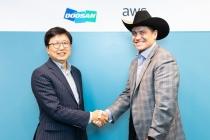 두산그룹, AWS 선정 '글로벌 디지털 혁신 가속'