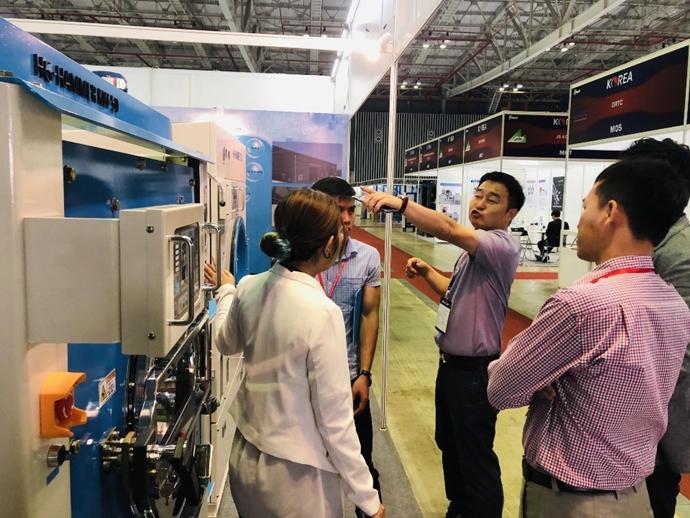 [포토뉴스][VIMAF 2019] 한강산업, 베트남 전시회에서 동남아·유럽 진출 기반 마련