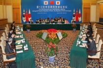 한·중·일 '제12차 경제통상장관회의' 개최, 높은 수준의 FTA 실현 추구