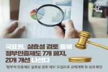 [카드뉴스] 국표원, 실효성 검토 통해 정부인증제도 7개 폐지, 21개 개선 나선다
