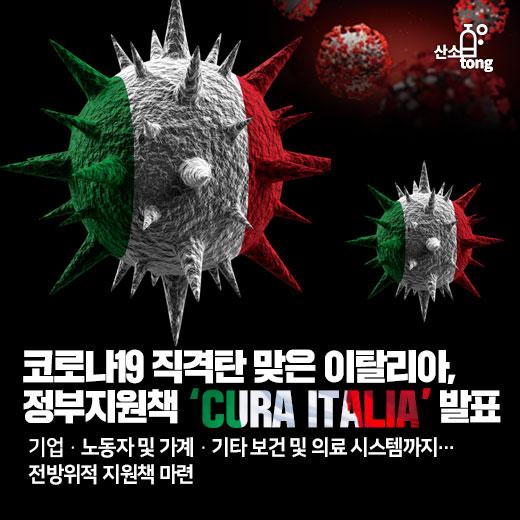 코로나19 직격탄 맞은 이탈리아, 정부지원책 'Cura Italia' 발표