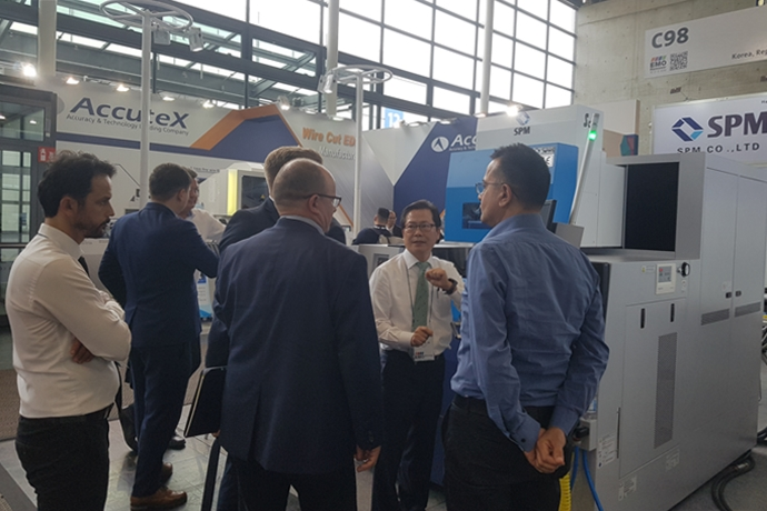 [KIMEX2020] SPM(에스피엠), 와이어 방전가공으로 신소재 가공의 새로운 가능성 제시 - 온라인전시회