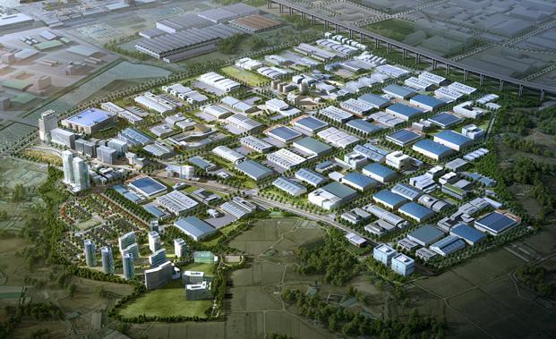 황해 경제자유구역, 친환경 미래자동차 육성