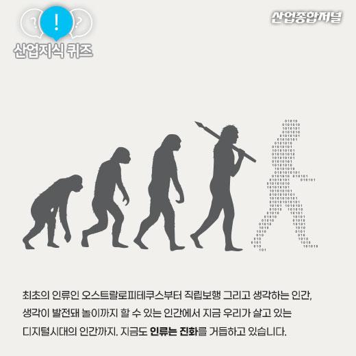 [산업지식퀴즈]스마트폰에 적응하며 진화하는 인간은? - 산업종합저널 산업지식퀴즈