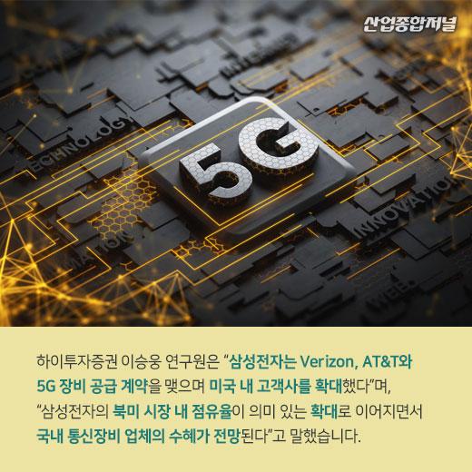 [카드뉴스] 미국 5G 시장, 삼성전자 본격 진출 노린다 - 산업종합저널 카드뉴스