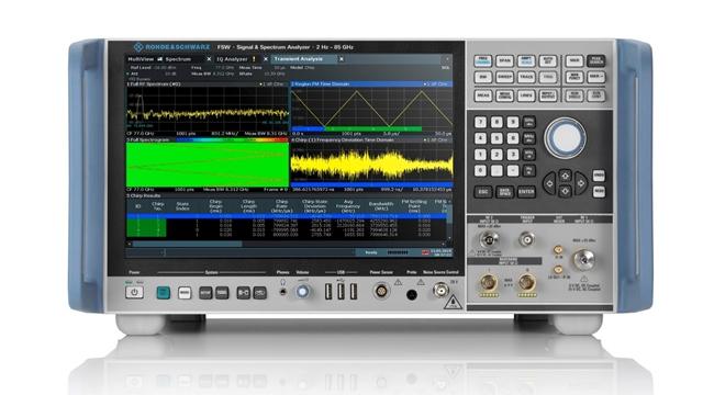 R&S FSW 신호·스펙트럼 분석기 FSW-B8001 옵션 적용 - 산업종합저널 신기술&신제품