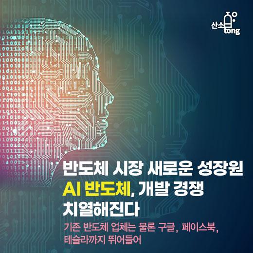 [카드뉴스] 반도체 시장 새로운 성장원 AI 반도체, 개발 경쟁 치열해진다