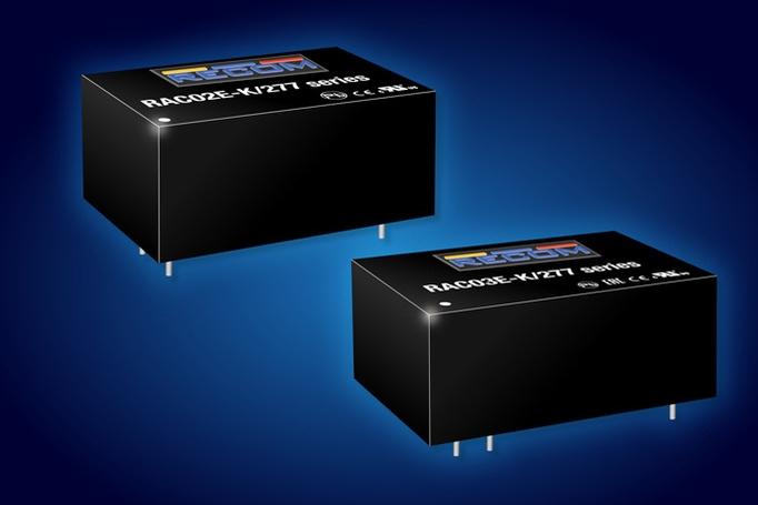 RECOM, 가성비 높은 보드 장착형 2W 및 3W AC/DC 출시 - 산업종합저널 신기술&신제품