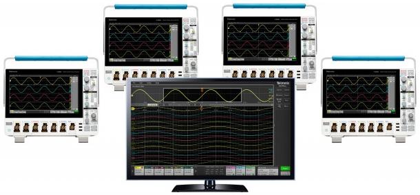 오실로스코프 최대 32개 채널 원격 제어 TekScope PC SW - 산업종합저널 장비