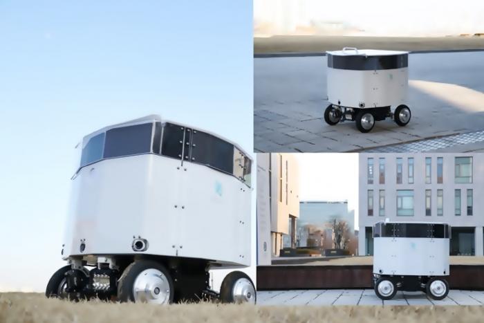 연대 송도캠퍼스 무인 배달 성공한 주행로봇 '뉴비' - 산업종합저널 로봇