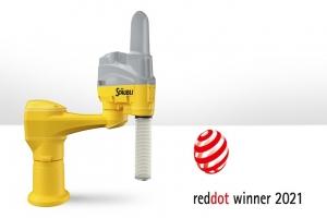 스토브리 TS2 산업용 로봇, Red Dot Award 2021에서 'Product Design' 부문 수상