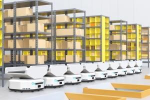 공장·물류창고에 자율이동로봇(AMR) 도입 확대돼