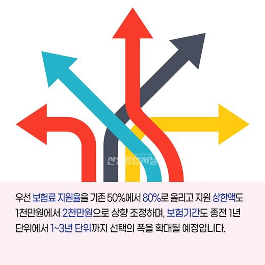 [카드뉴스] 8월부터 소부장(소재·부품·장비) 기업의 신뢰성 보험 혜택 강화 - 산업종합저널 동향