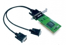 CP-102UL-DB9M 2-port RS-232 Universal PCI serial boards