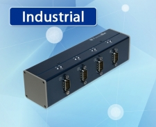 [FUS-4D/ALL] USB to 4-Port RS232/RS422/RS485 산업용 시리얼 컨버터