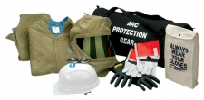 고압방염복 ARC FLASH PROTECTION HRC4(PPE4) ATPV 44cal/cm2 KIT