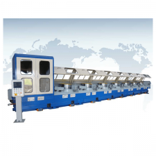 Features of Straight Line Type Wire Drawing Machine (철사 제조머신 라인)