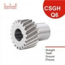 Straight Teeth Ground Pinions 일자형 그라운드 피니언 기어 CSGH-Q6 Series