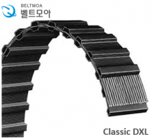 Classic XL belt, pitch 5.08mm, XL, 양면 고무 벨트 272~290