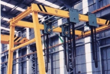 H-BEAM 반전용 SEMI GANTRY CRANE