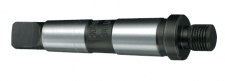 Morse taper arbors with threaded mount