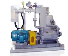 수봉식 진공펌프 WATER RING VACUUM PUMP / WVPS