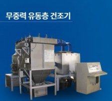 무중력 유동층 건조기 (Non-Gravity Fluidized bed Dryer)