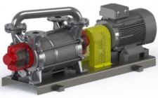 Liquid ring vacuum pump / 액봉식 진공펌프 / VH Series (Double stage version)