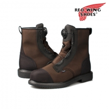 레드윙 방수 안전화, Red Wing 2491 Men\'s 8 inch Boot Brown