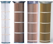 PLEATED FILTER BAG CARTRIDGE FILTER