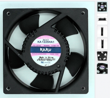 AC FAN, KA1225HA1SMT, 팬