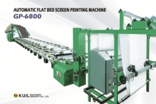 Automatic Flat Bed Screen Printing Machine (GP-6800)