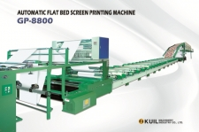 Automatic Flat Bed Screen Printing Machine (GP-8800)