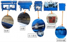 Combined Descaling Machine